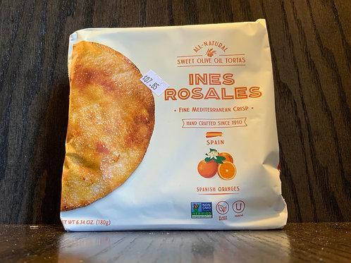 Ines Rosales Crackers - Spanish Oranges
