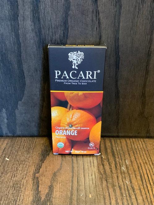 Orange Pacari Chocolate
