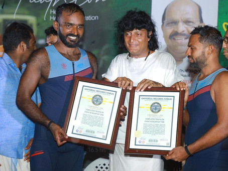 First Participants in 140.6 Triathlon Conducted in India