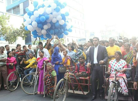 Largest Rally of Differently Abled