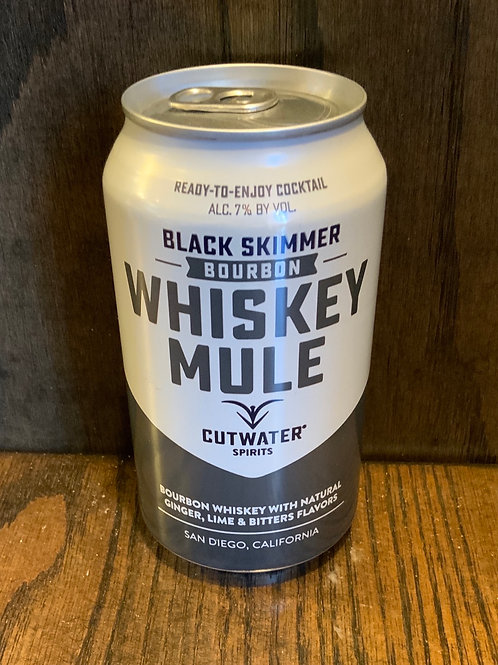 Whiskey Mule Can Cocktail