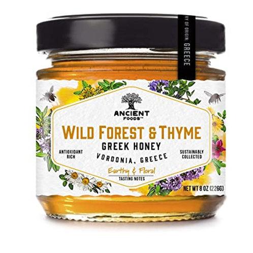 Wild Forest & Thyme Greek Honey