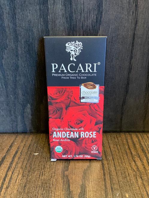 Andean Rose Pacari Chocolate