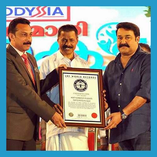 Super star Mohanlal Receiving URF
