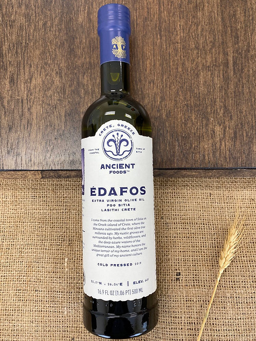 Edafos Organic Extra Virgin Greek Olive Oil
