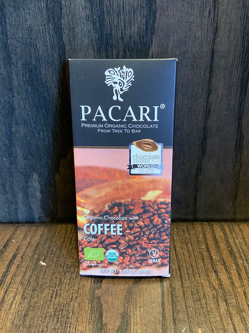 Coffee Pacari Chocolate
