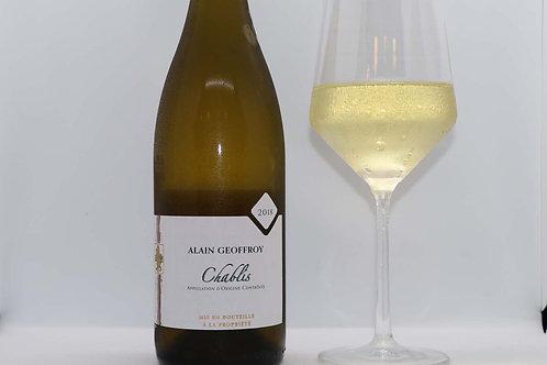 Domaine Geoffroy, Chardonnay, Chablis, Burgundy, 2018