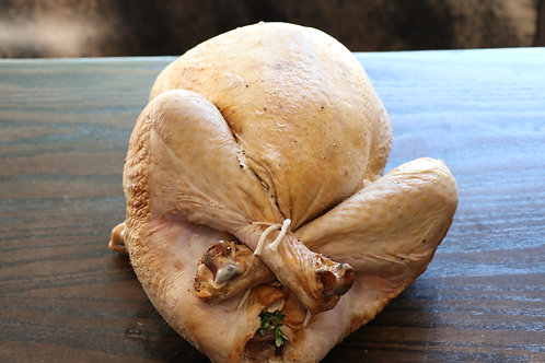 Uncooked Whole Turkey for 8