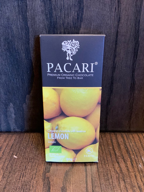Lemon Pacari Chocolate