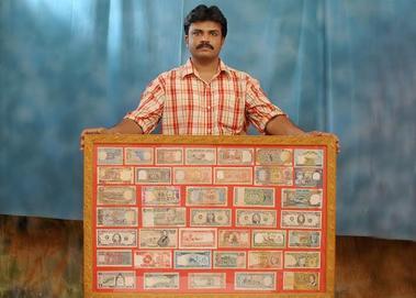 Replica of Hand Written Currencies