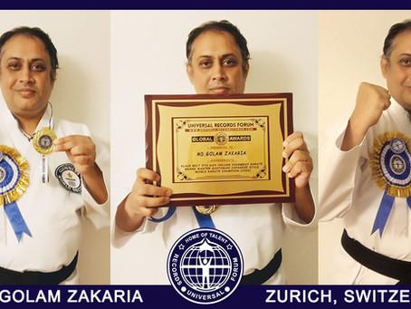 URF Global Award 2021 | MD GOLAM ZAKARIA