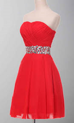 Red Prom / Party Dress