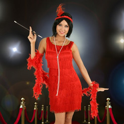 flapper red