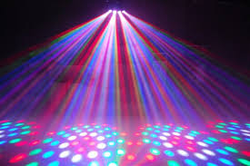7 Head Disco Lights