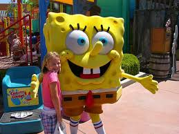 Yellow Character under the sea
