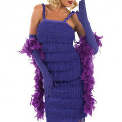 flapper purple