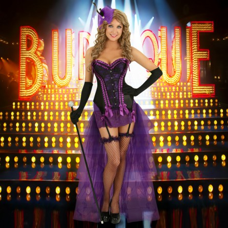 Burlesque purple