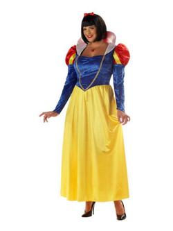 Snow White Womens Plus Size