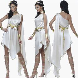 White Greek Costume