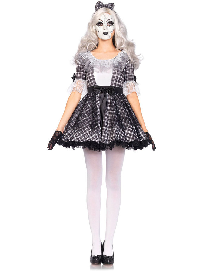 Pretty Porcelain Doll Costume