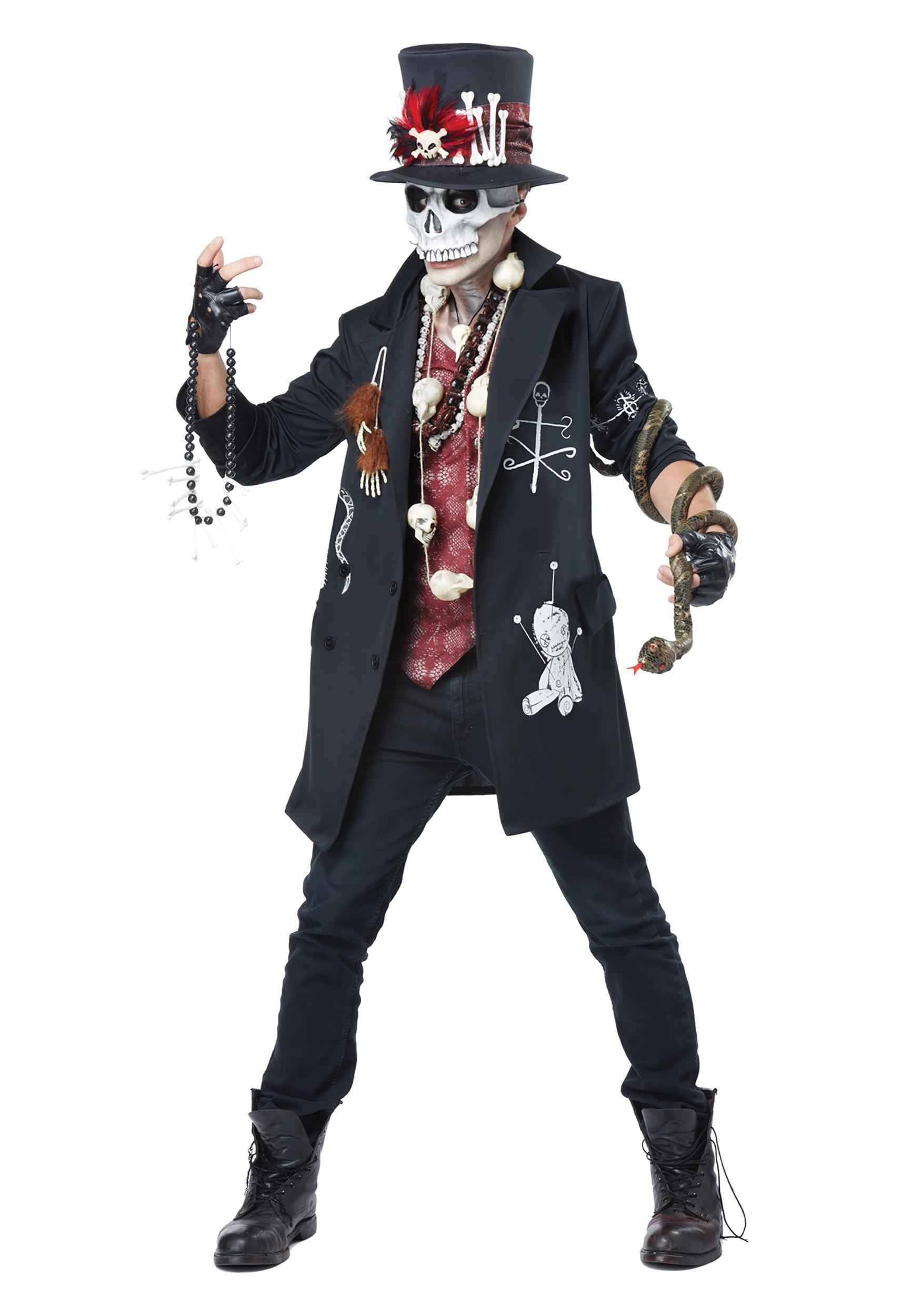 Voodoo Dude Costume