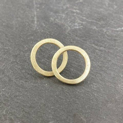 Little Circles - solid circle studs