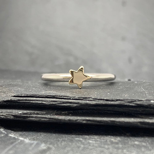 Wish Upon A Star Stacking Ring