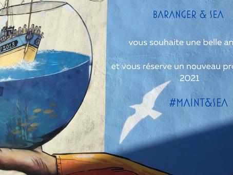Toute l'équipe de BARANGER & SEA vous souhaite une année 2021 pleine réussite dans vos projets.
