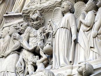 devil-archangel-michael-notre-dame-relie