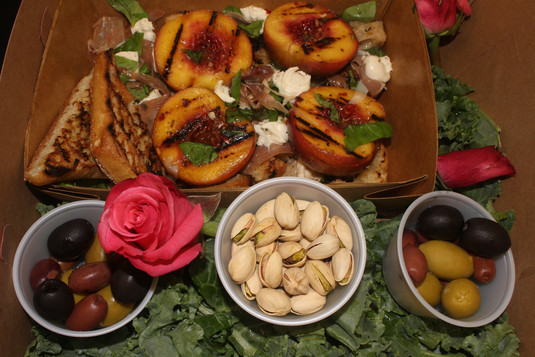 Peachy Panzanella Salad
