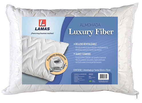 ALMOHADA LUXURY FIBER