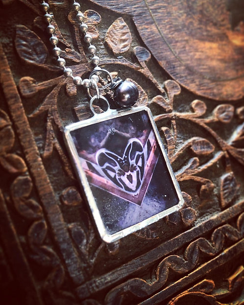 Steam Heart Necklace