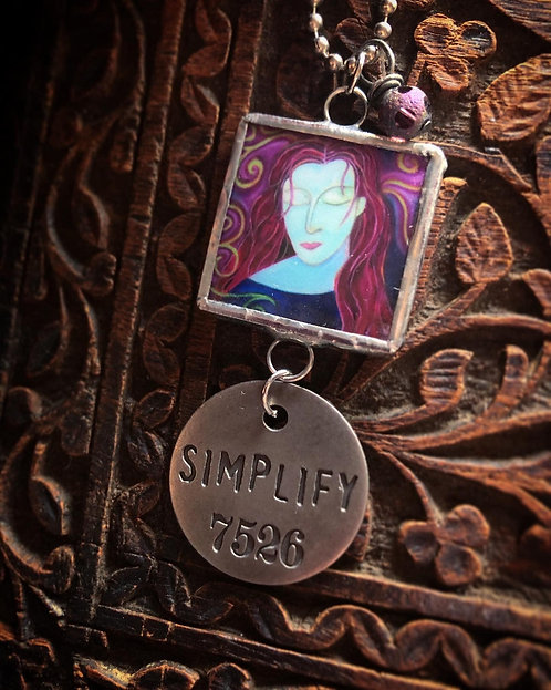 Beauty and Magic Are Born in Secret Places: Simplify: Necklace