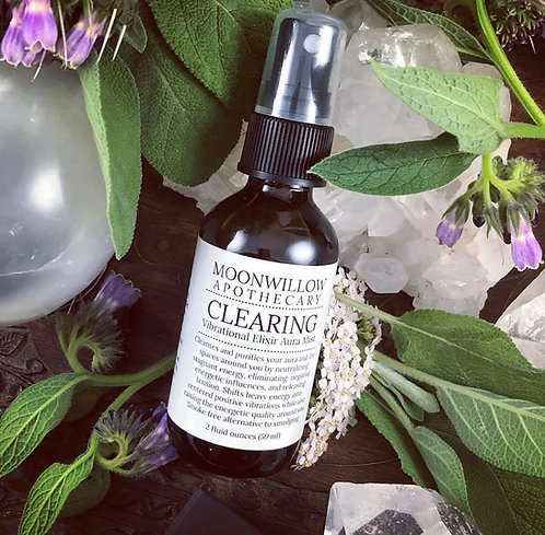 Clearing Vibrational Essence Aura Mists