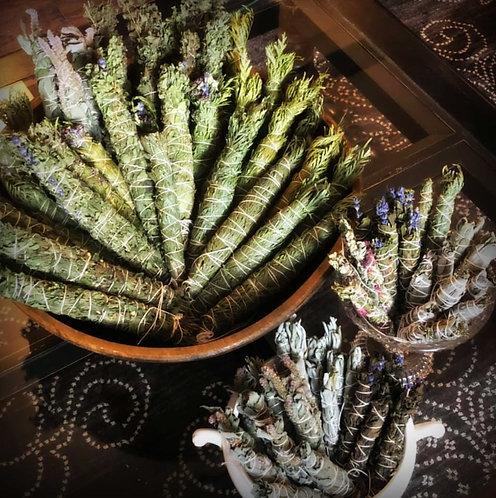 Blends: Smoke Cleansing Herbal Bundles (Large)
