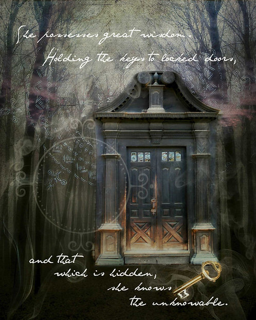 Dark Goddess Door
