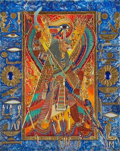 Sekhmet the Eye of Ra
