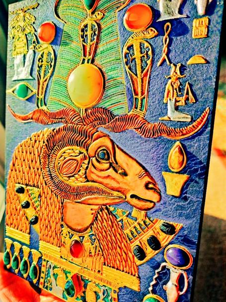 Akem-Shield of Khnum-Ptah-Tatenen & the Egg of Creation