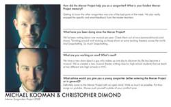 Michael Kooman Christopher Dimond