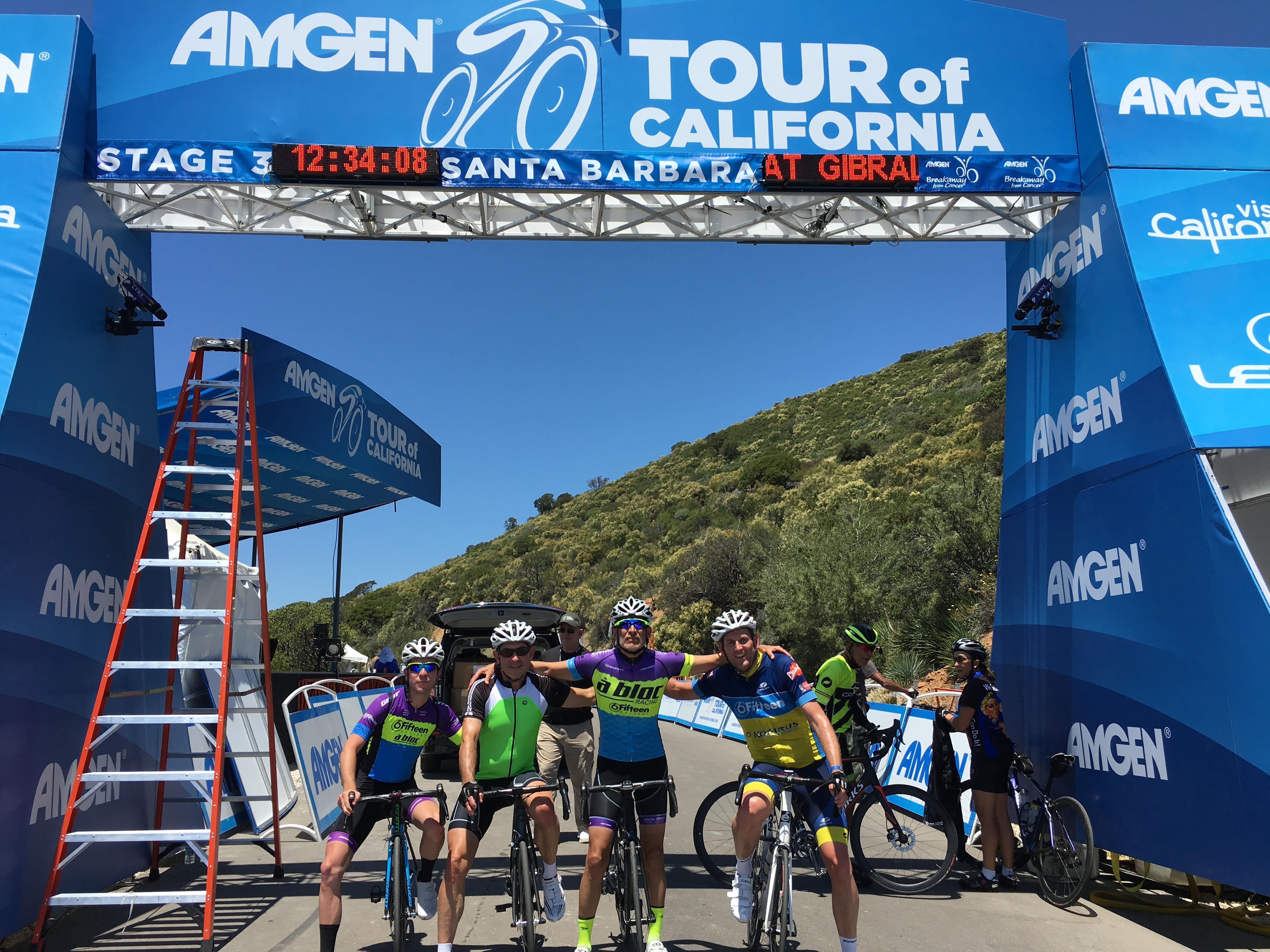 2017 Amgen Tour of California 2 day tour