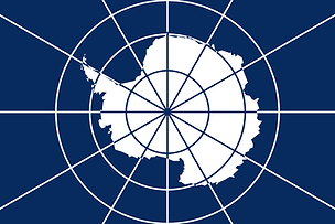 Antarctic Treaty System emblem, a flag of Antarctica