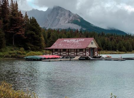 Maligne Lake, Jasper National Park, AB