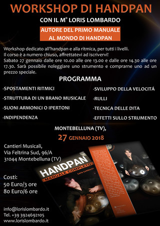 Loris Lombardo - WorkshopTreviso