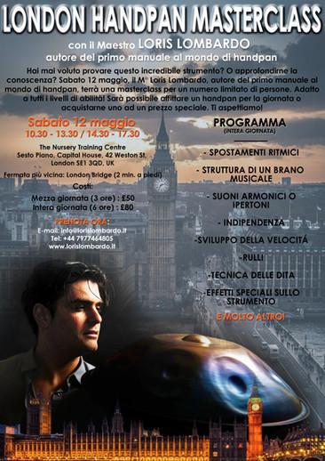 Loris Lombardo - Masterclass Londra