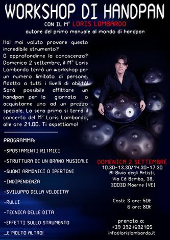 Loris Lombardo - Workshop Maerne