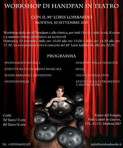 Loris Lombardo - Workshop Modena