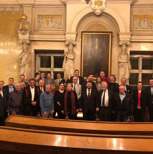 Besuch im Alten Rathaus