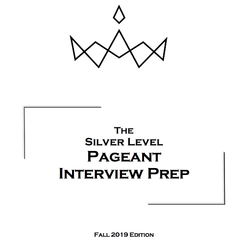 The SILVER Level Pageant Prep Package