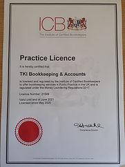 new Practice licence.jpg