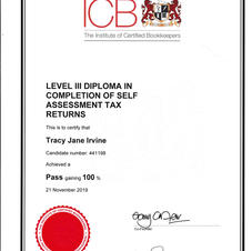 Level 3 Diploma in Self Assessment Tax